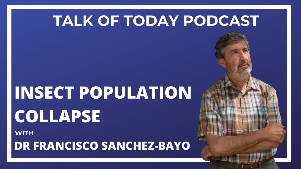 Insect Population Collapse with Dr Francisco Sanchez-Bayo