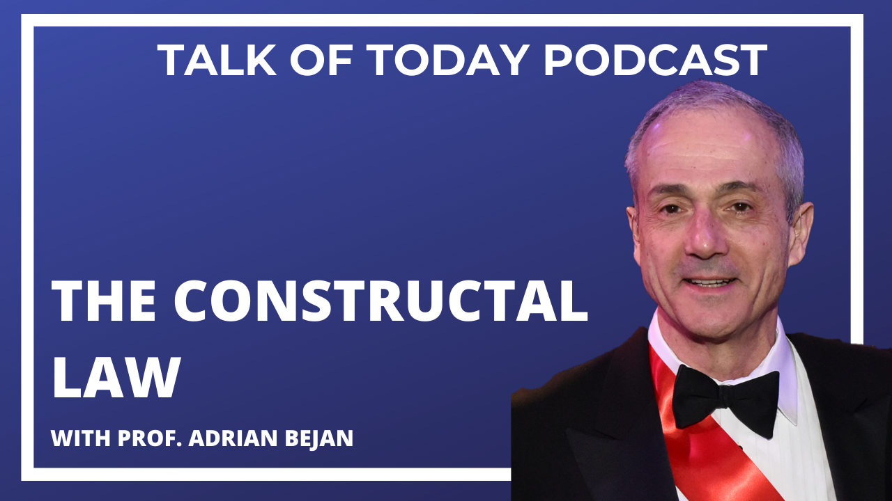 The Constructal Law with Prof. Adrian Bejan