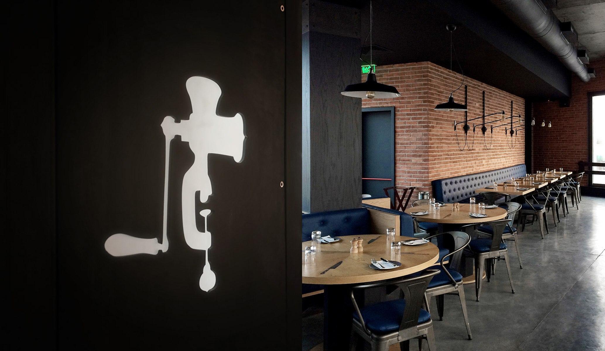 The Foundry Bar Restaurant Interior Design Reform Cyprus