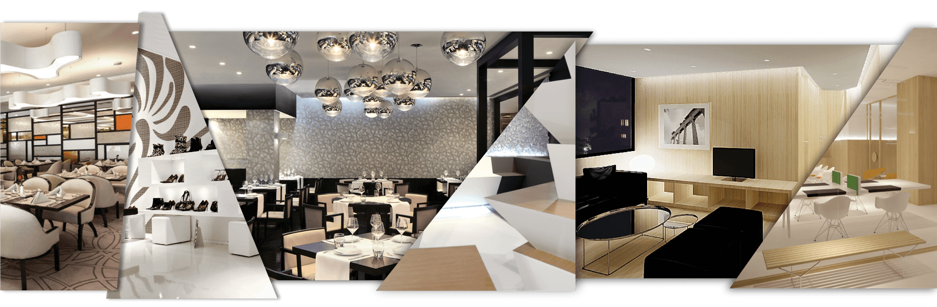 Commercial interior design services in Cyprus - various hospitality, retail & office interiors designed by Reform.