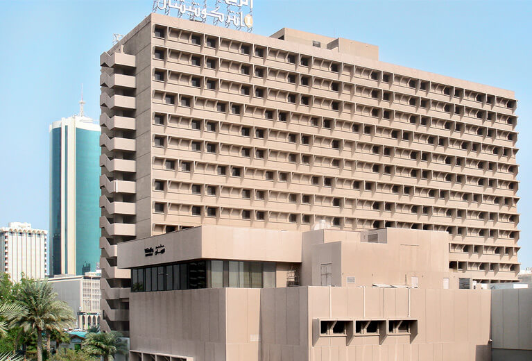 The Regency InterContinental Hotel in Bahrain before being renovated.