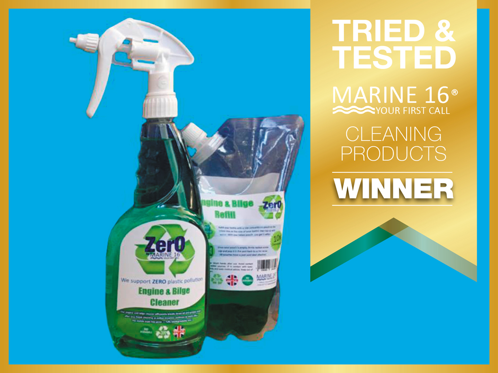 Tried and Tested: Best Yacht Cleaning Product winner