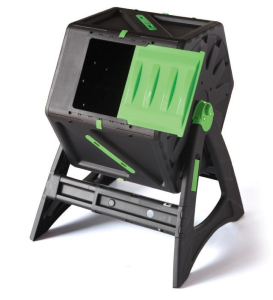 This Composter can be built quickly and reaches high temperatures to help break down compost quickly and efficiently.