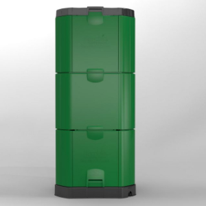 The 600L Aerobin Hot Composter is a device that provides an ideal environment for highly efficient, healthy aerobic composting in most climates. This hot composter can accelerate the composting process, even for tough waste.
