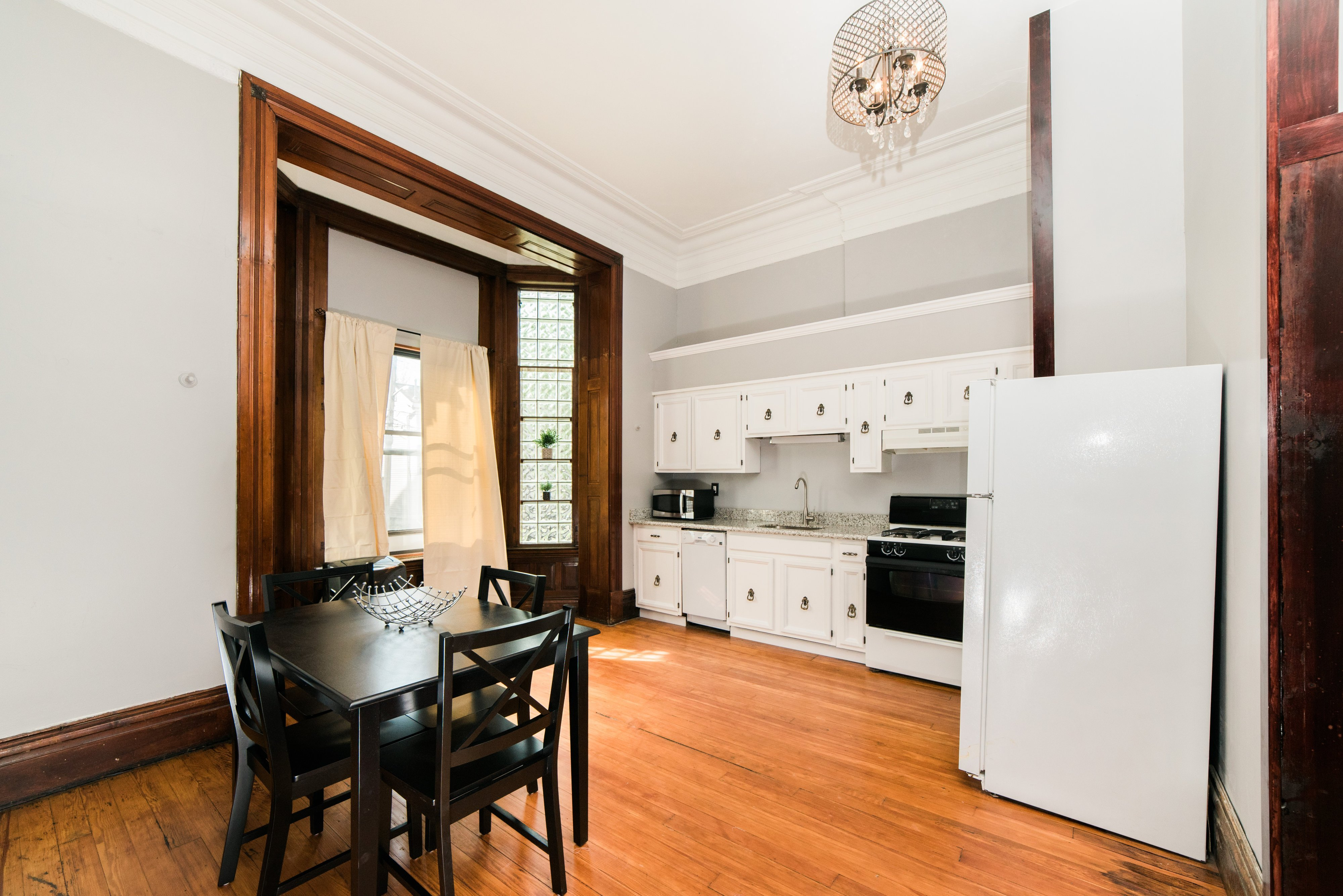 Photo of the dining room in Harpster apartment