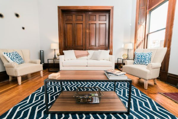 Photo of the living room in Harpster apartment