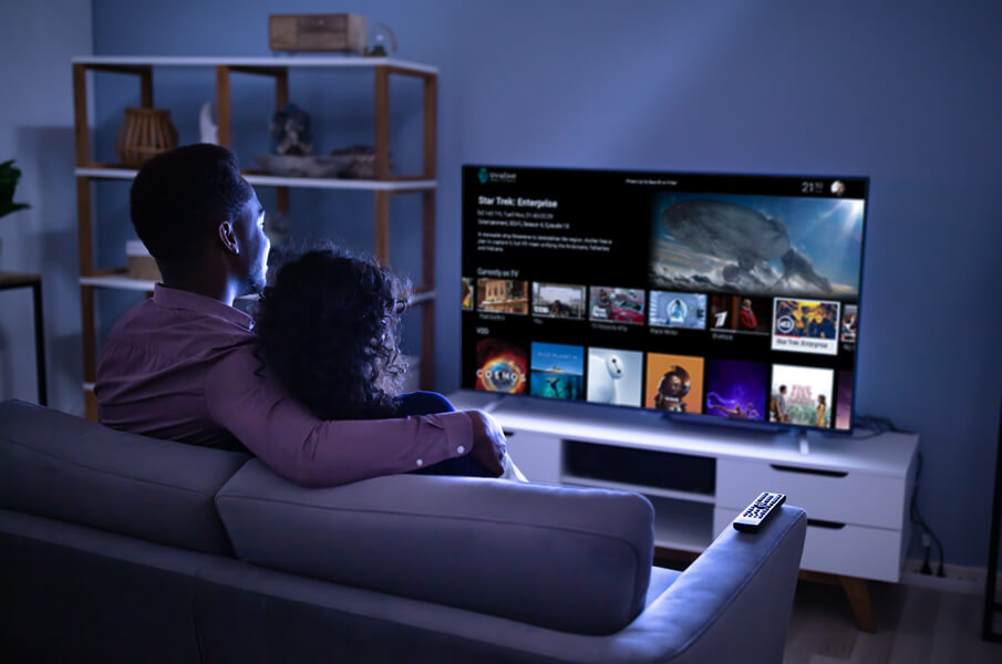 UniqCast Turnkey Solution, Add subscribers through global reach. With adaptive streaming you are able to connect viewers from any network provider