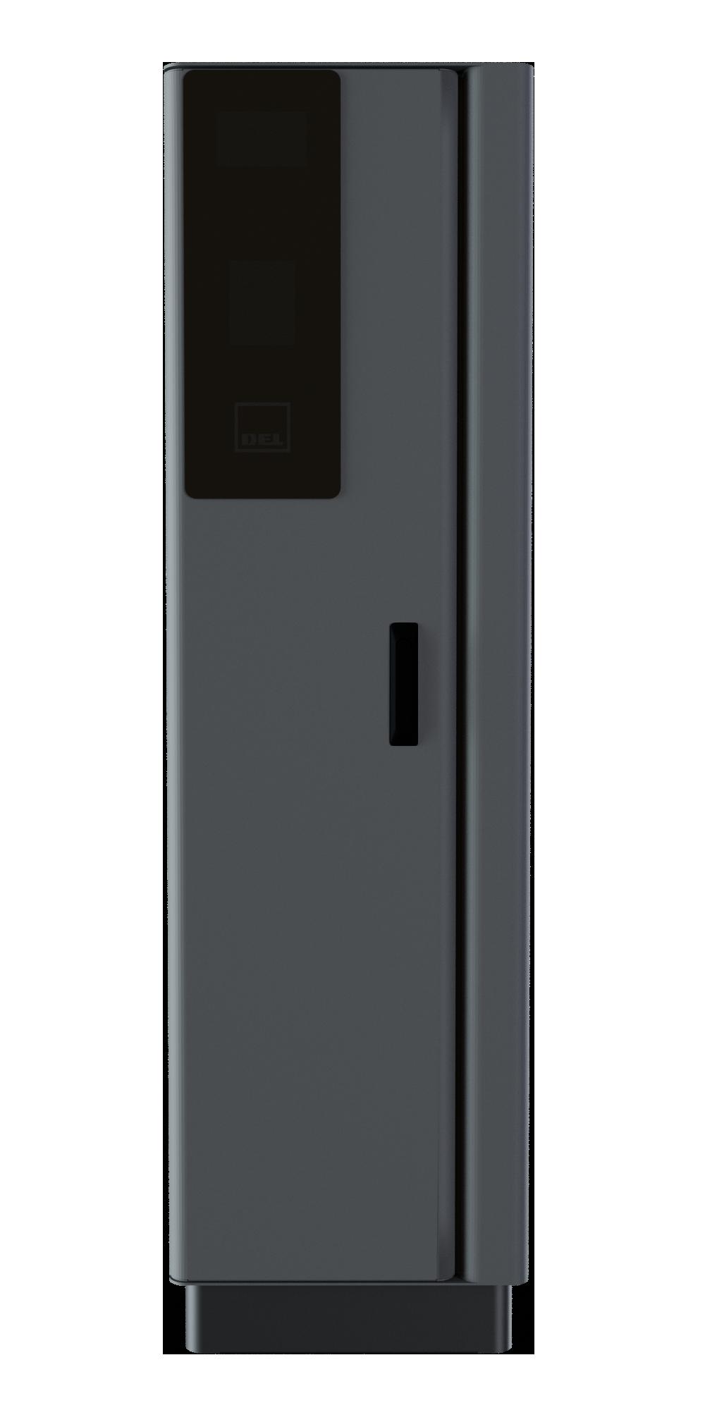 DEL Tower - šedý lak