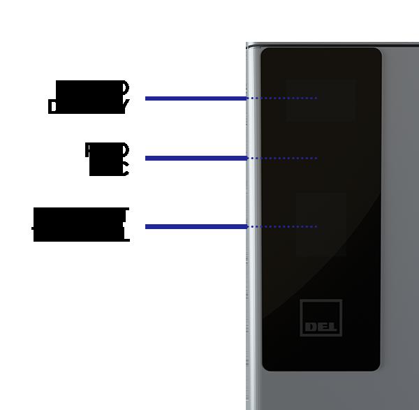 DEL Tower - display detail