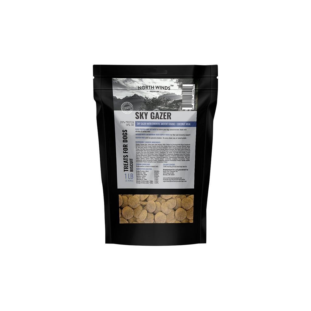 Sky Gazer with Chicken, Ancient Grains + Coconut meal Dog Treat