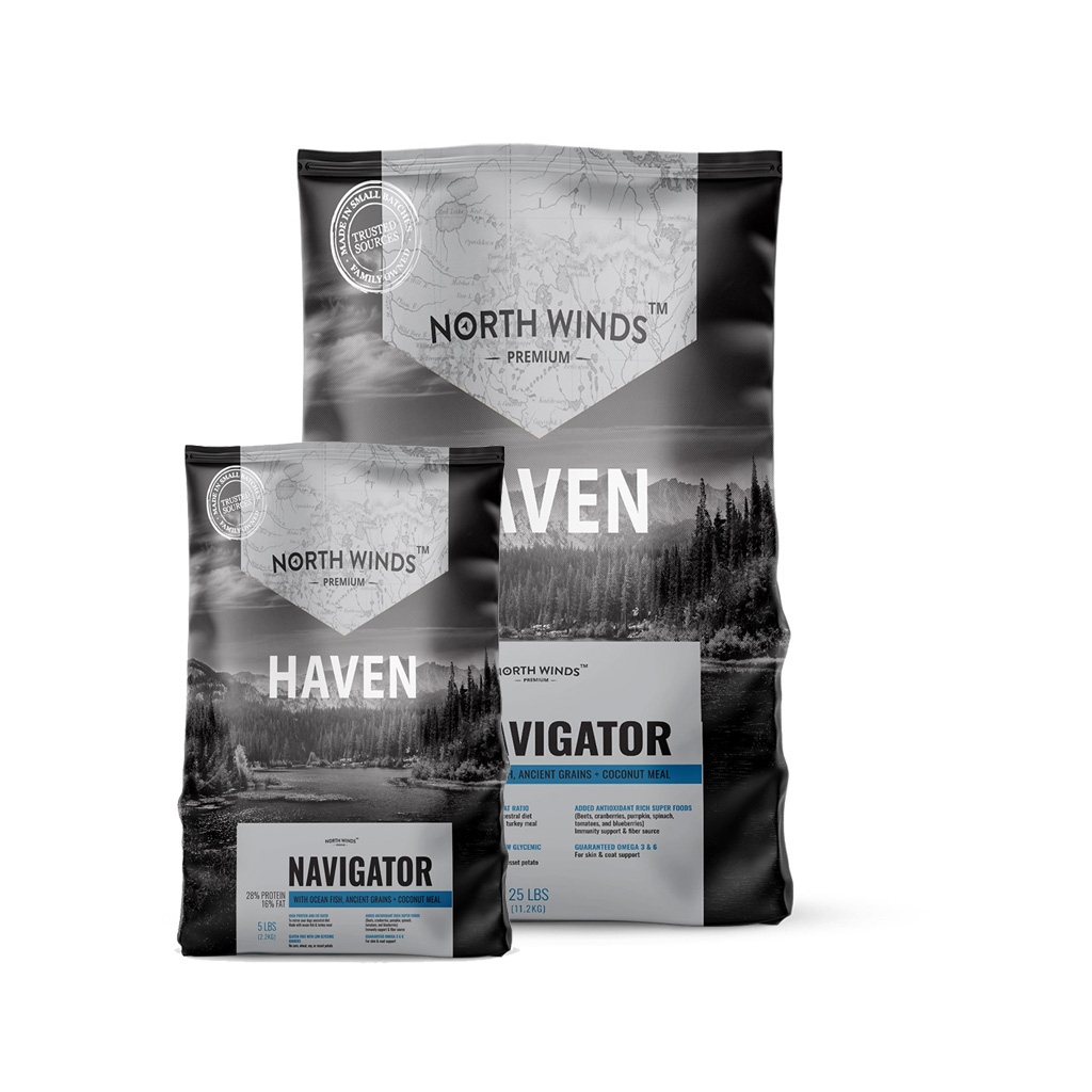 Haven Navigator with Ocean Fish, Ancient Grains + Coconut Meal