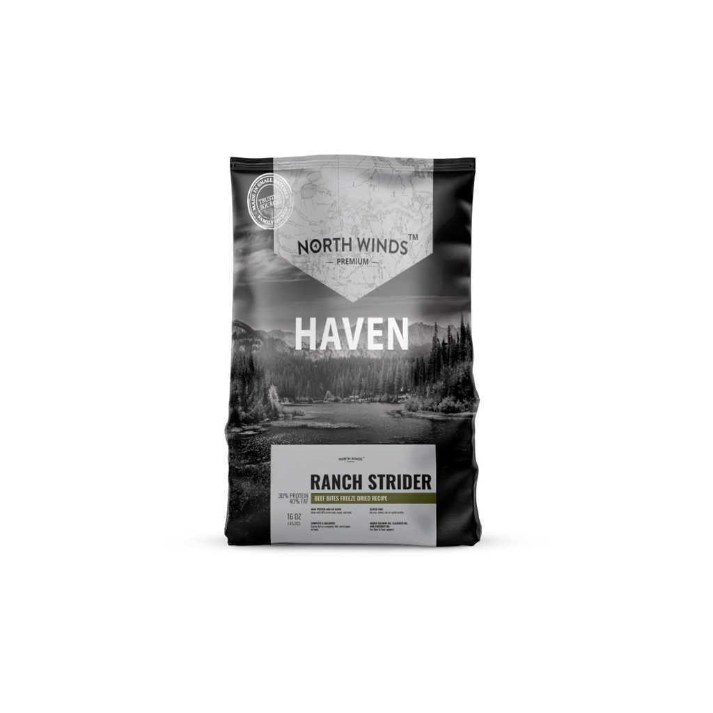 Haven Ranch Strider - Beef Bites Freeze Dried Recipe