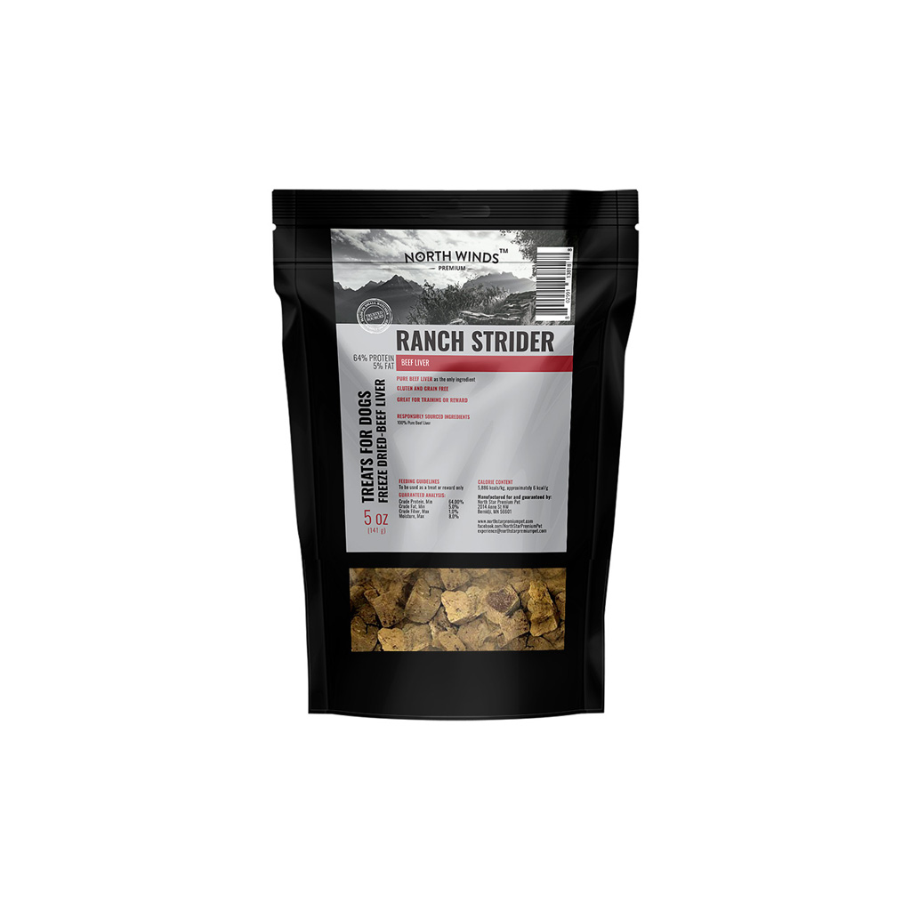 Beef Strider Freeze Dried Beef Liver Treat