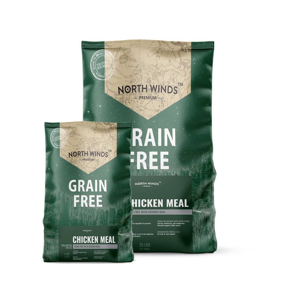 Grain Free with Chicken Meal