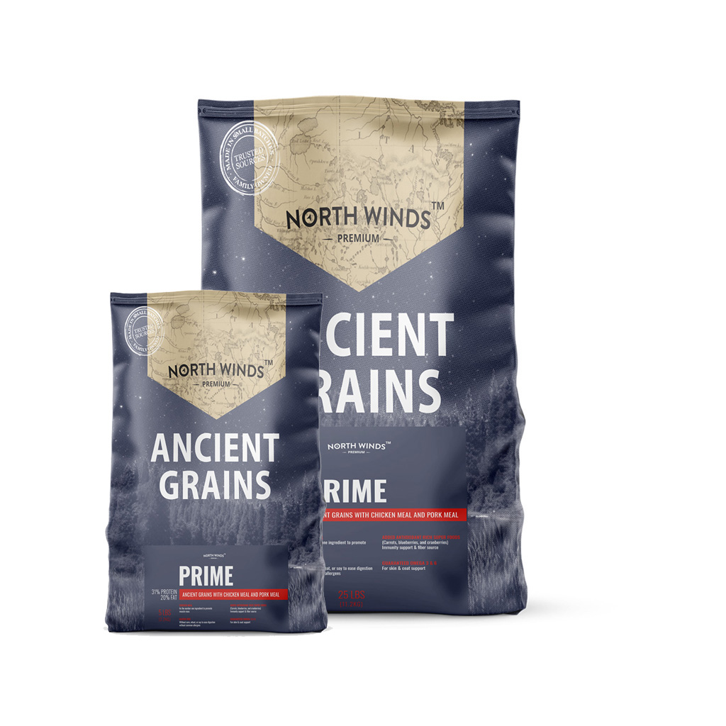 Ancient Grains Prime Chicken Meal & Pork Meal
