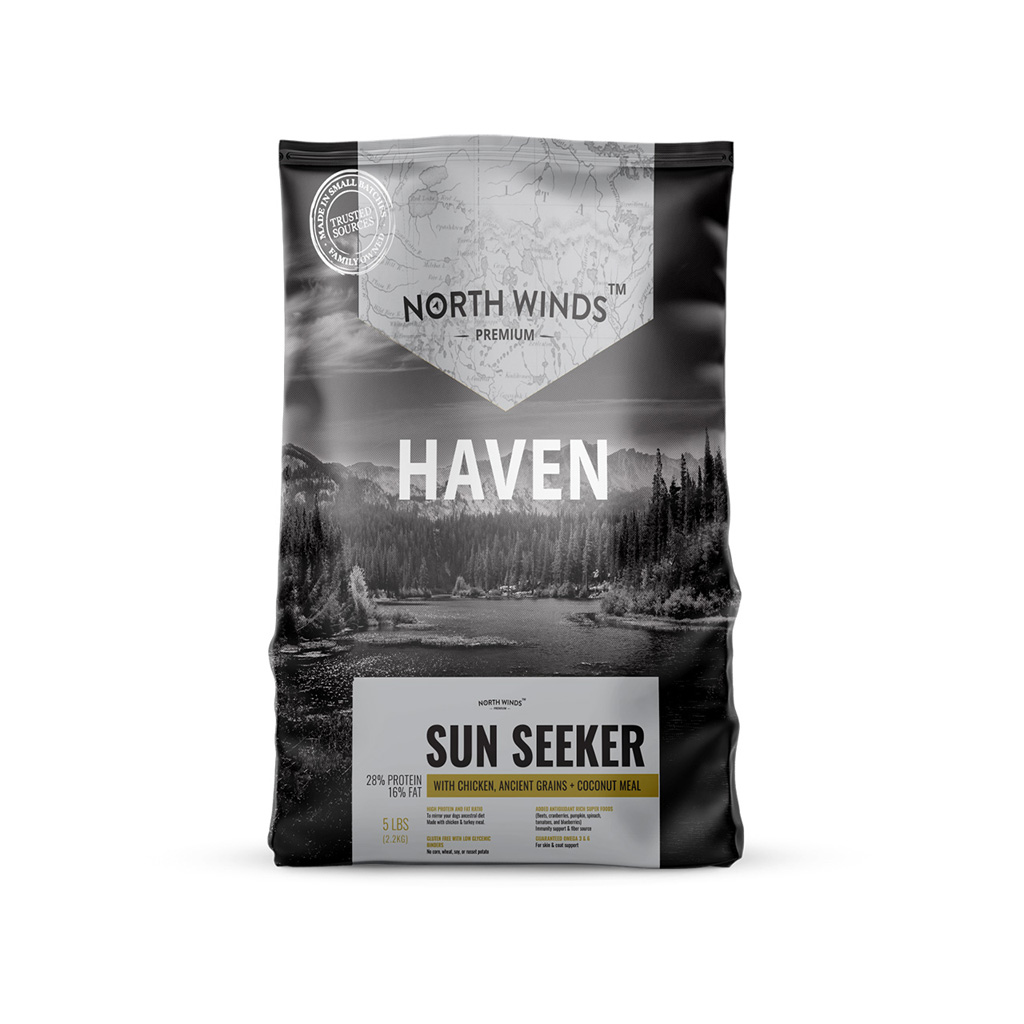 Haven Sun Seeker with Chicken, Ancient Grains + Coconut Meal