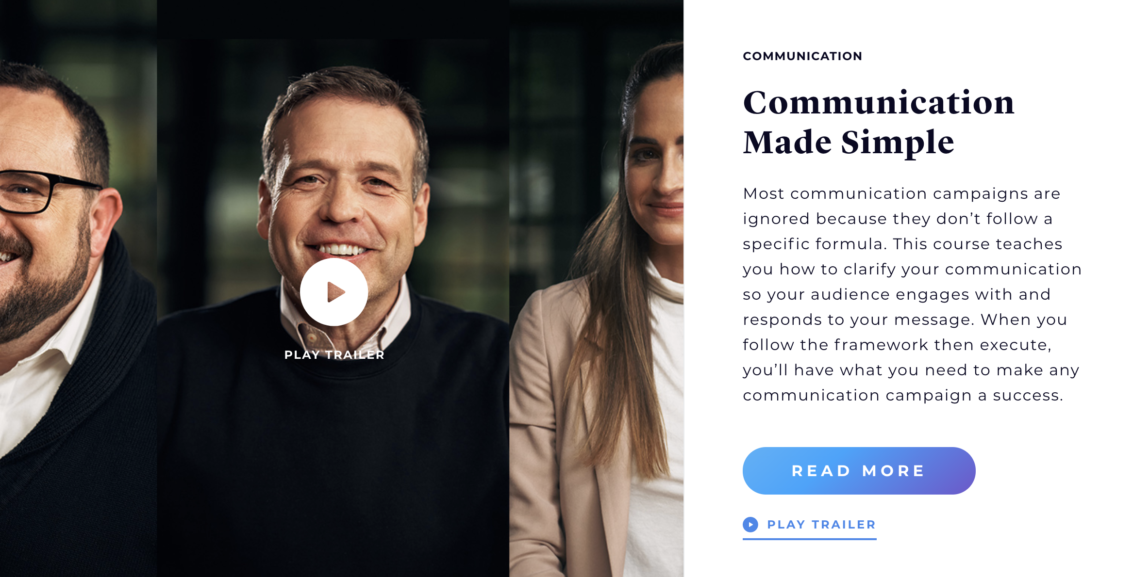Course:Communication Made Simple