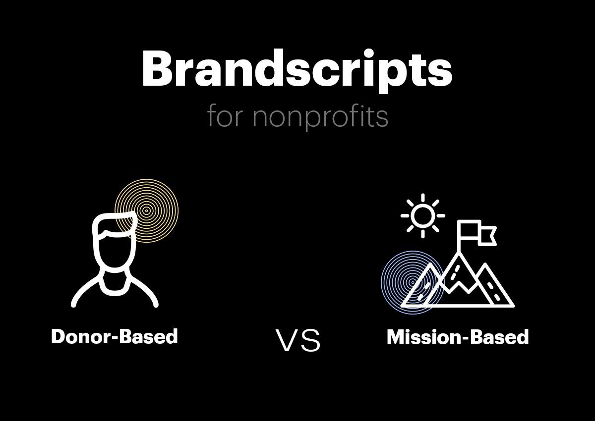 Brandscripts for nonprofits