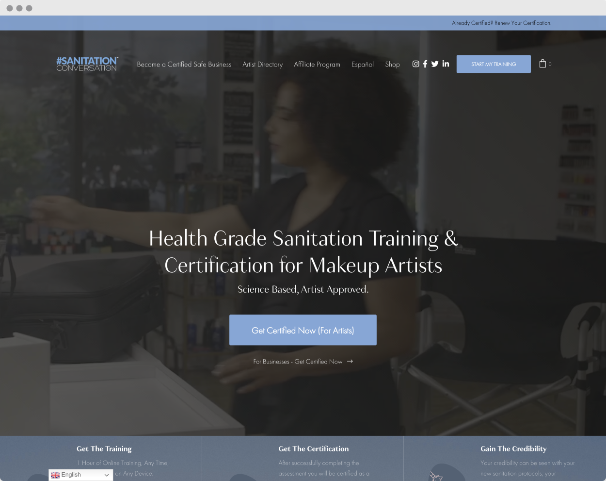 StoryBrand Website Example #9 –Sanitation Conversation