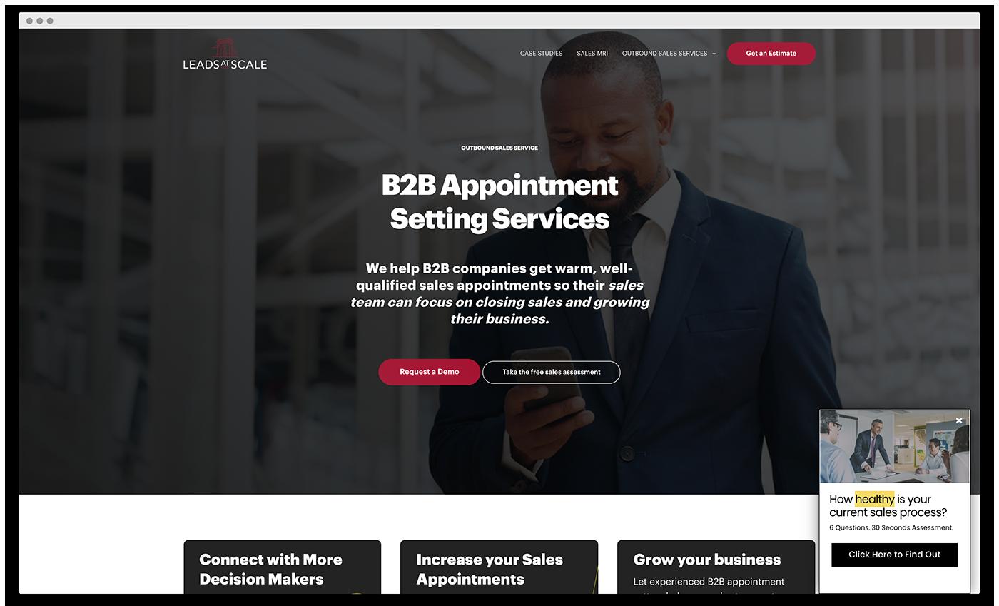 StoryBrand Website Example