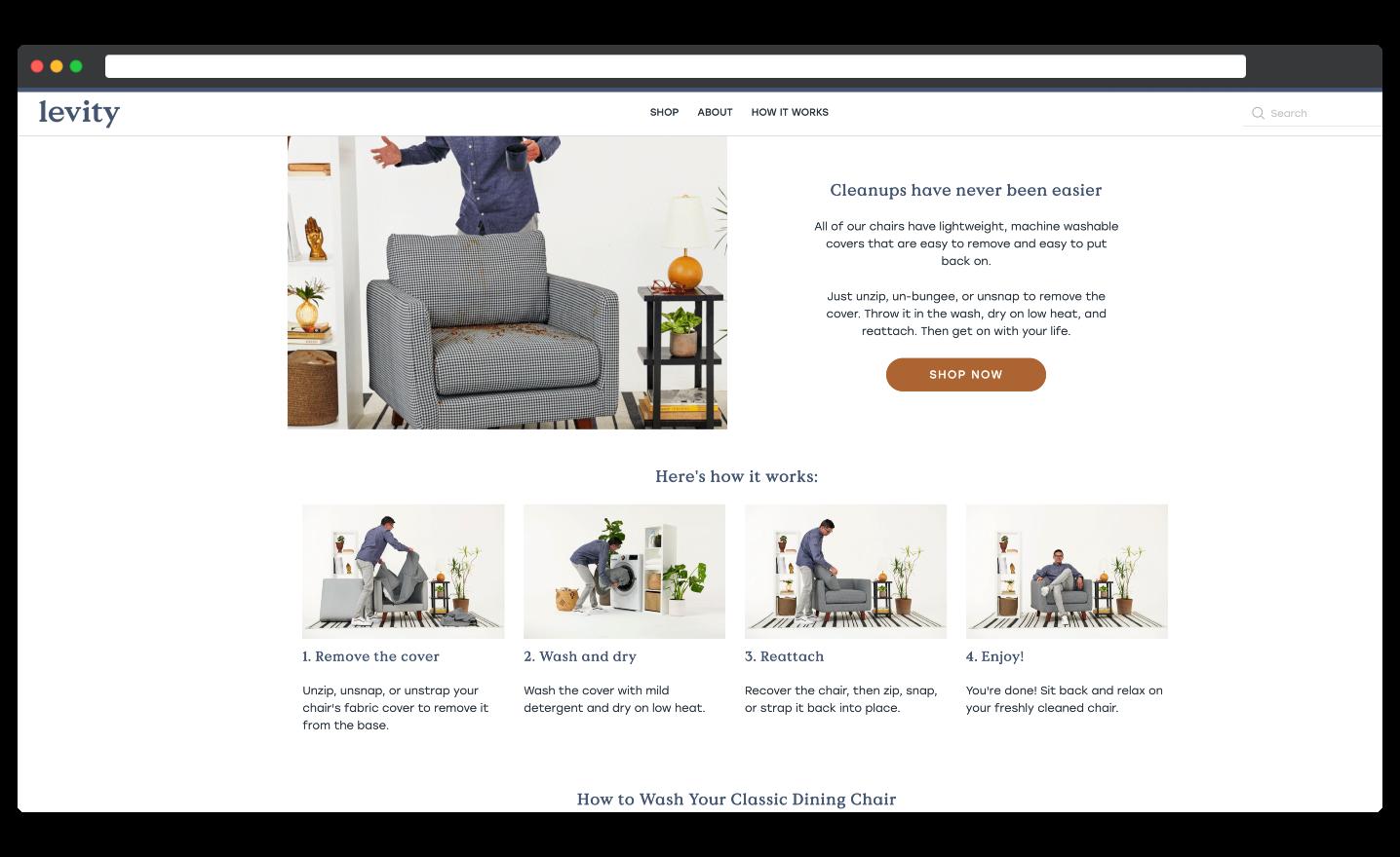 LevityHomes.com StoryBrand Example