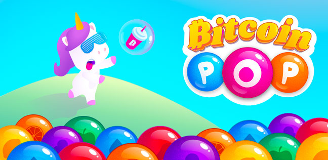 Bitcoin pop - Earn bitcoin - Make money by playing game