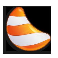 Items sweet bitcoin - Orange candy
