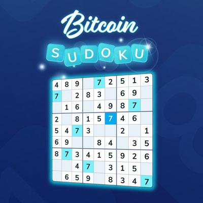Bitcoin Sudoku, play sudoku and earn Bitcoin
