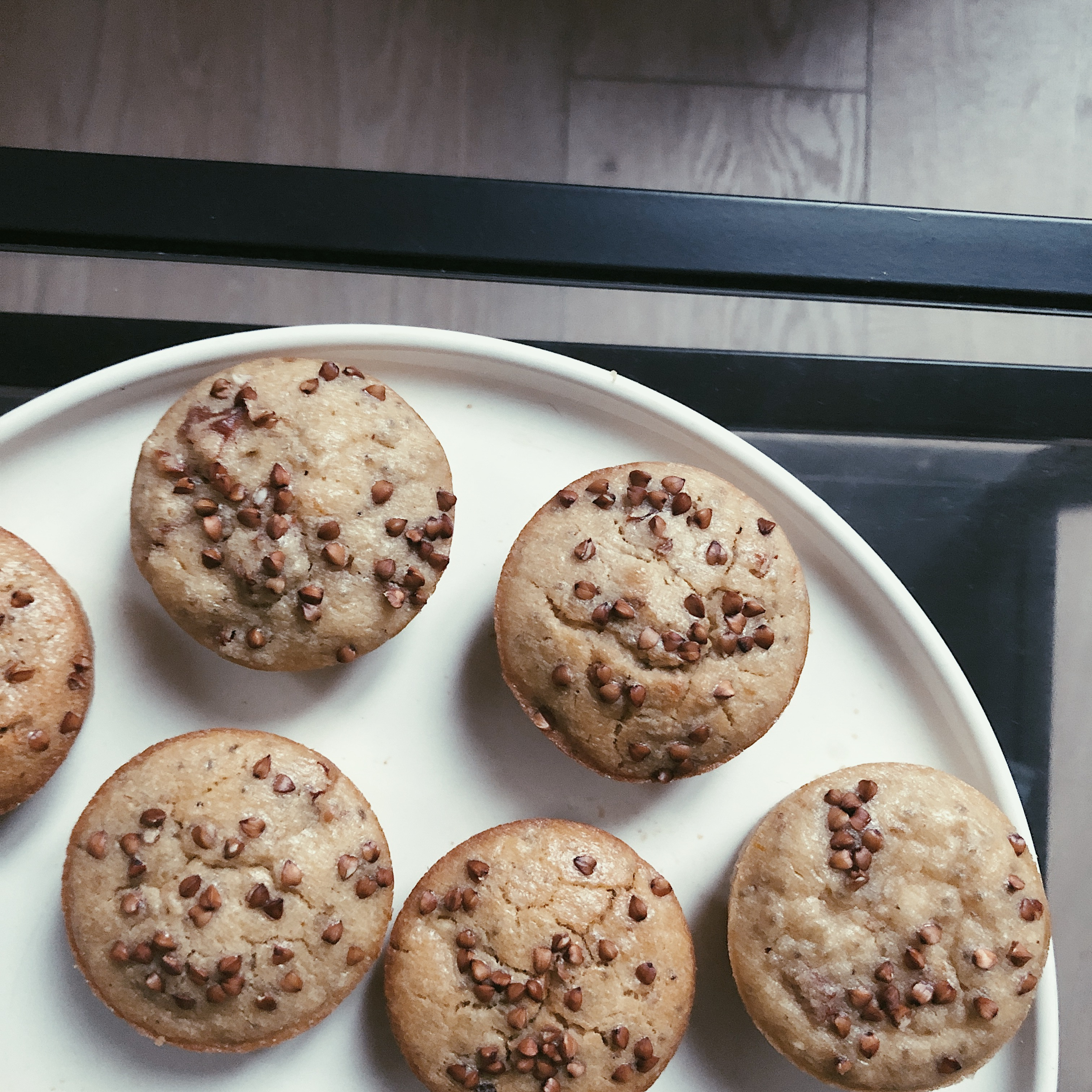 MUFFINS MOUTARDE TOMATE