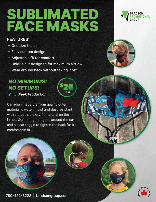 Custom Sublimated Mask