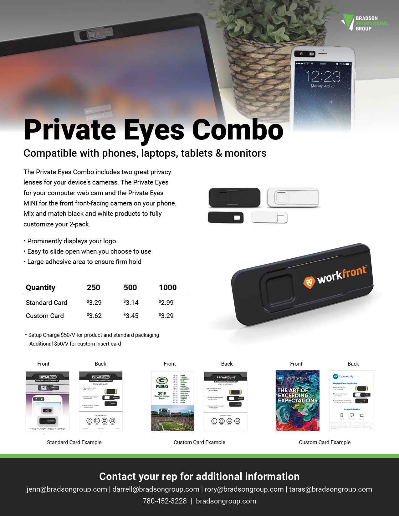 Private Eyes Flyer