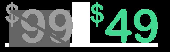 WorkFeel: $49 flat rate +
