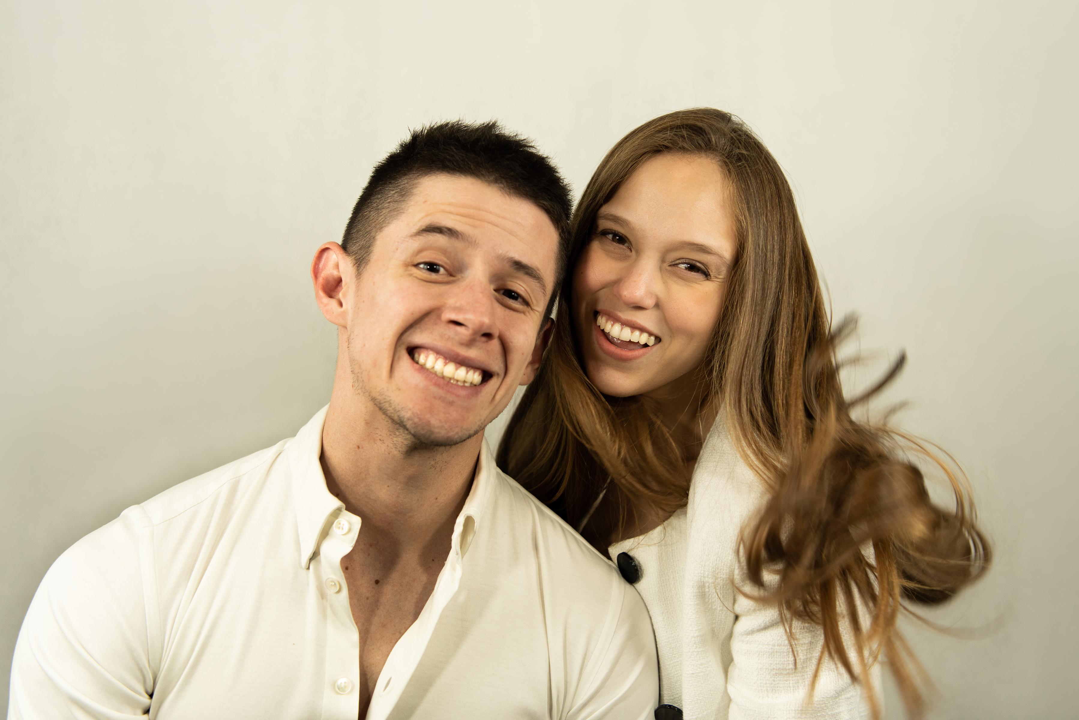 Viviane Hernandez and Armando Mora