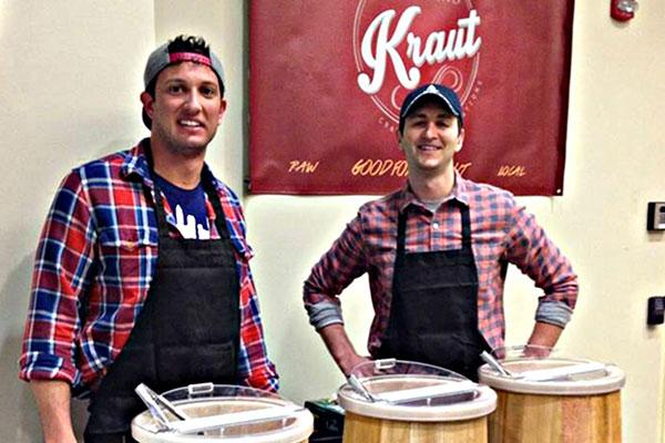 Drew Anderson and Luke Visnic: Kings of Kraut By Beth Phillips