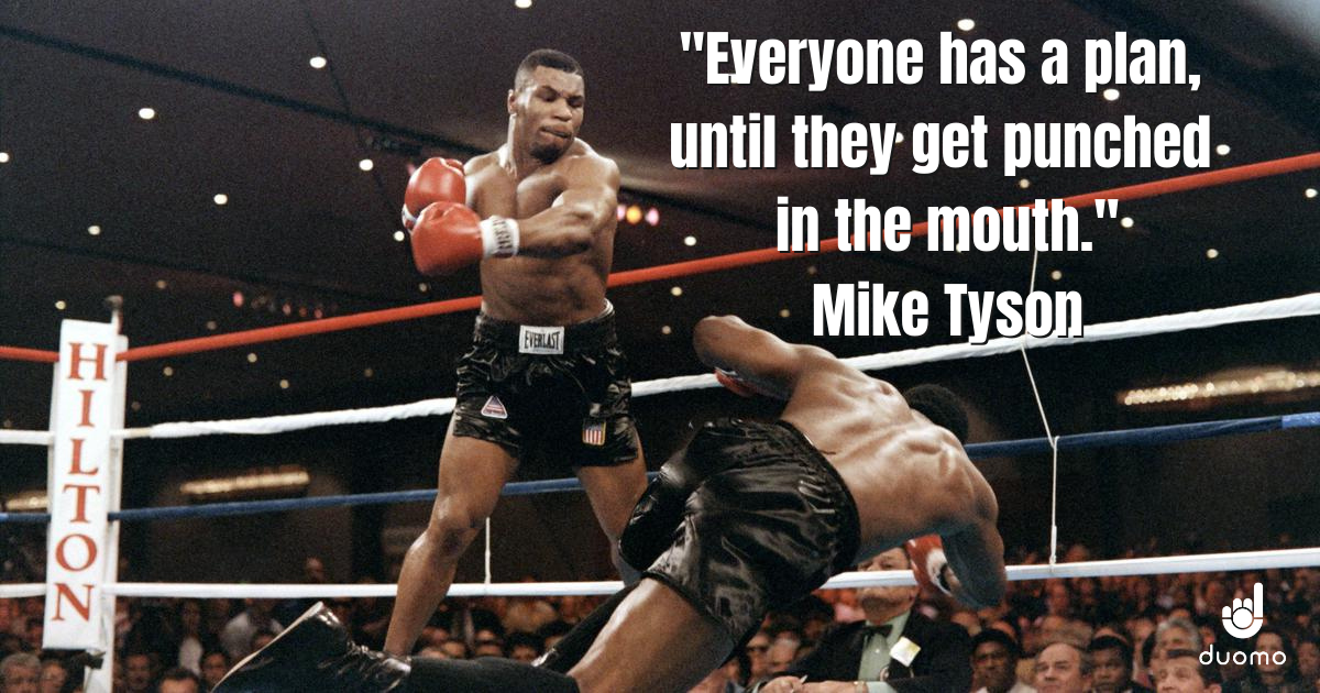 Mike Tyson quote. Trading and boxing