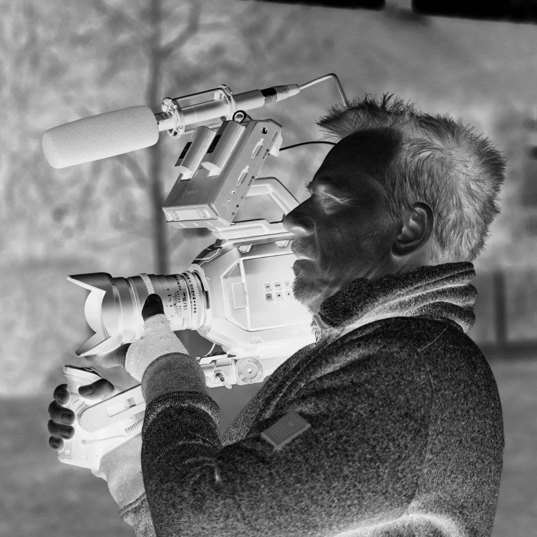 inverted camera person videography nottingham video production east midlands