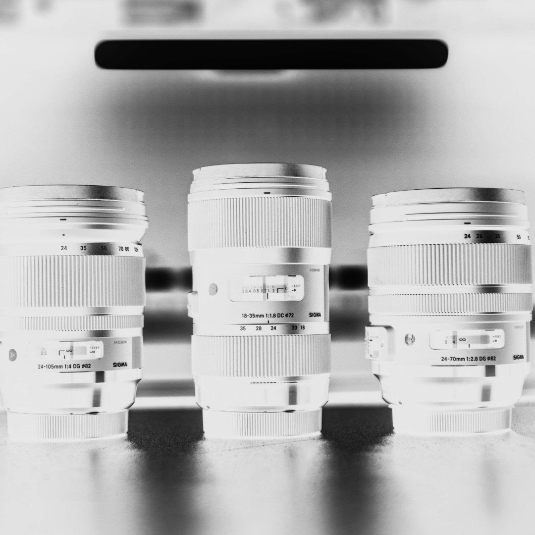 set of 3 lenses