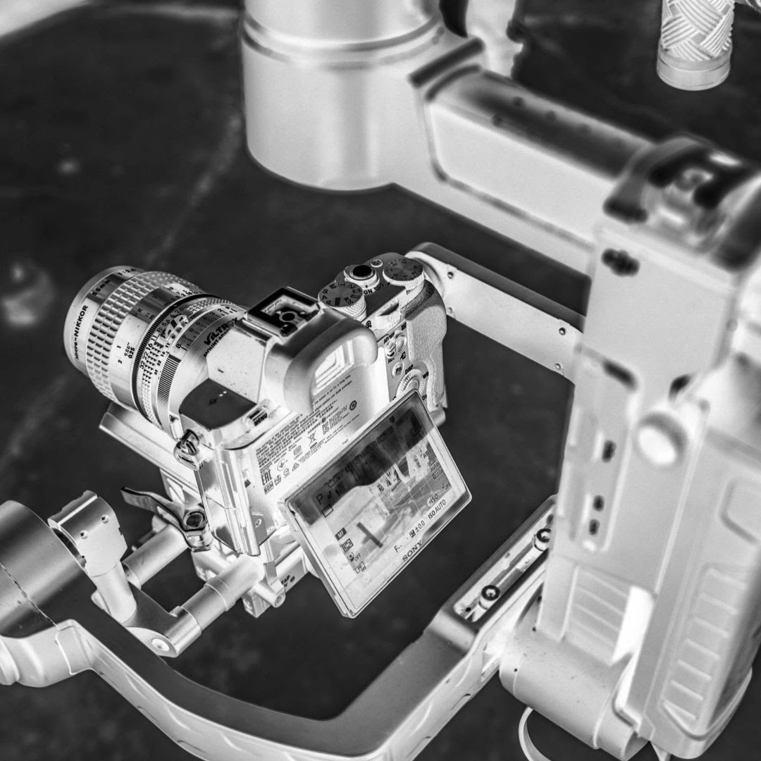 camera in gimbal video production nottingham