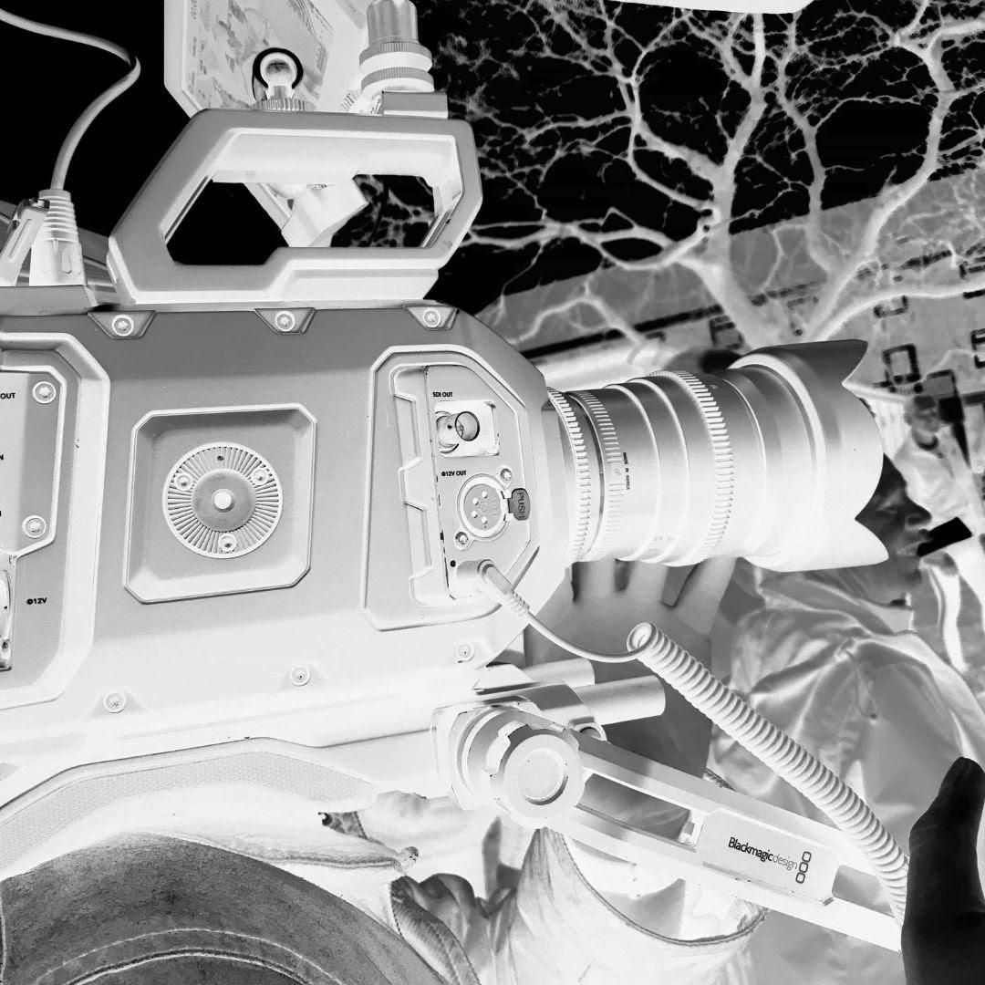 camera on someones shoulder videography company nottingham