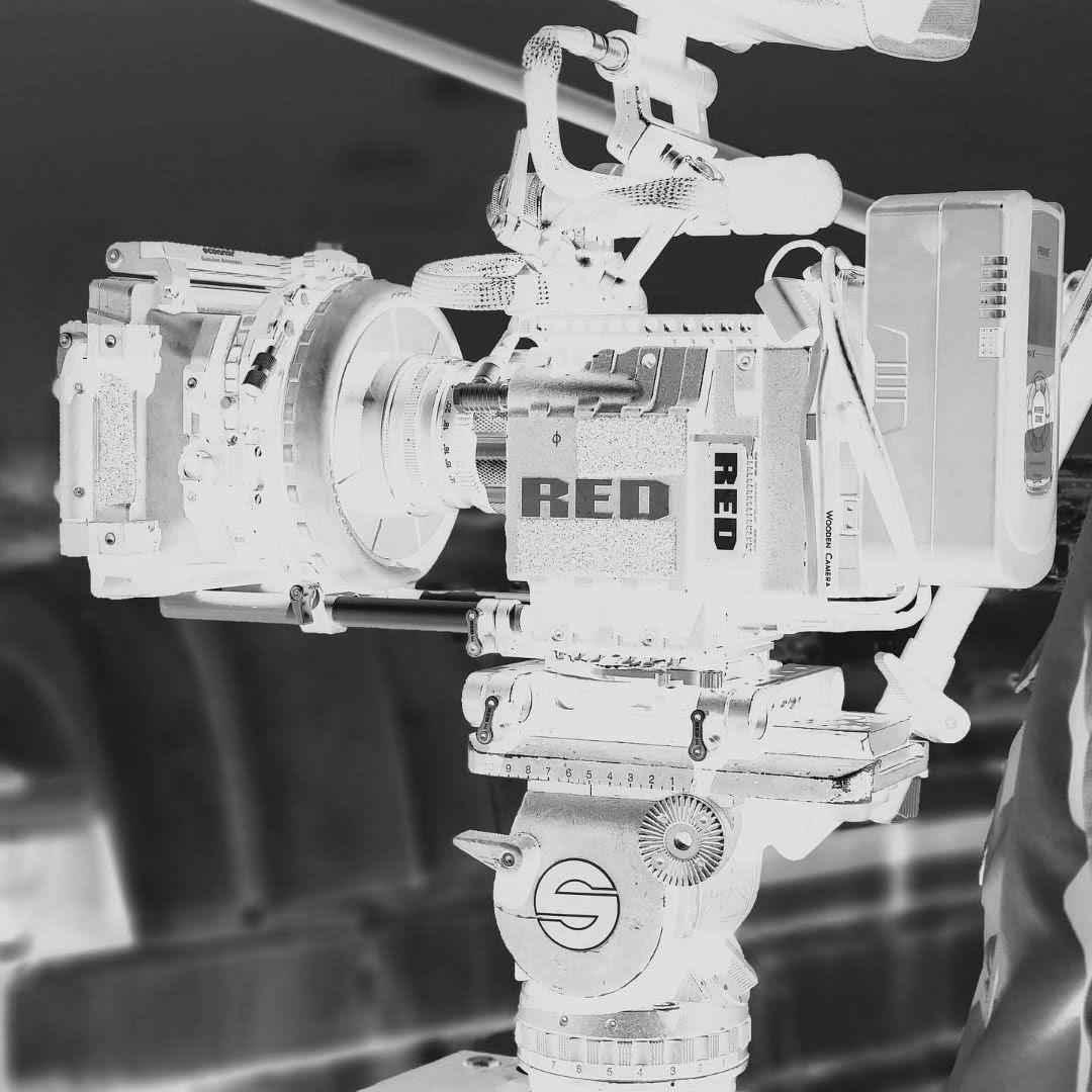 black and white camera - video marketing company nottingham
