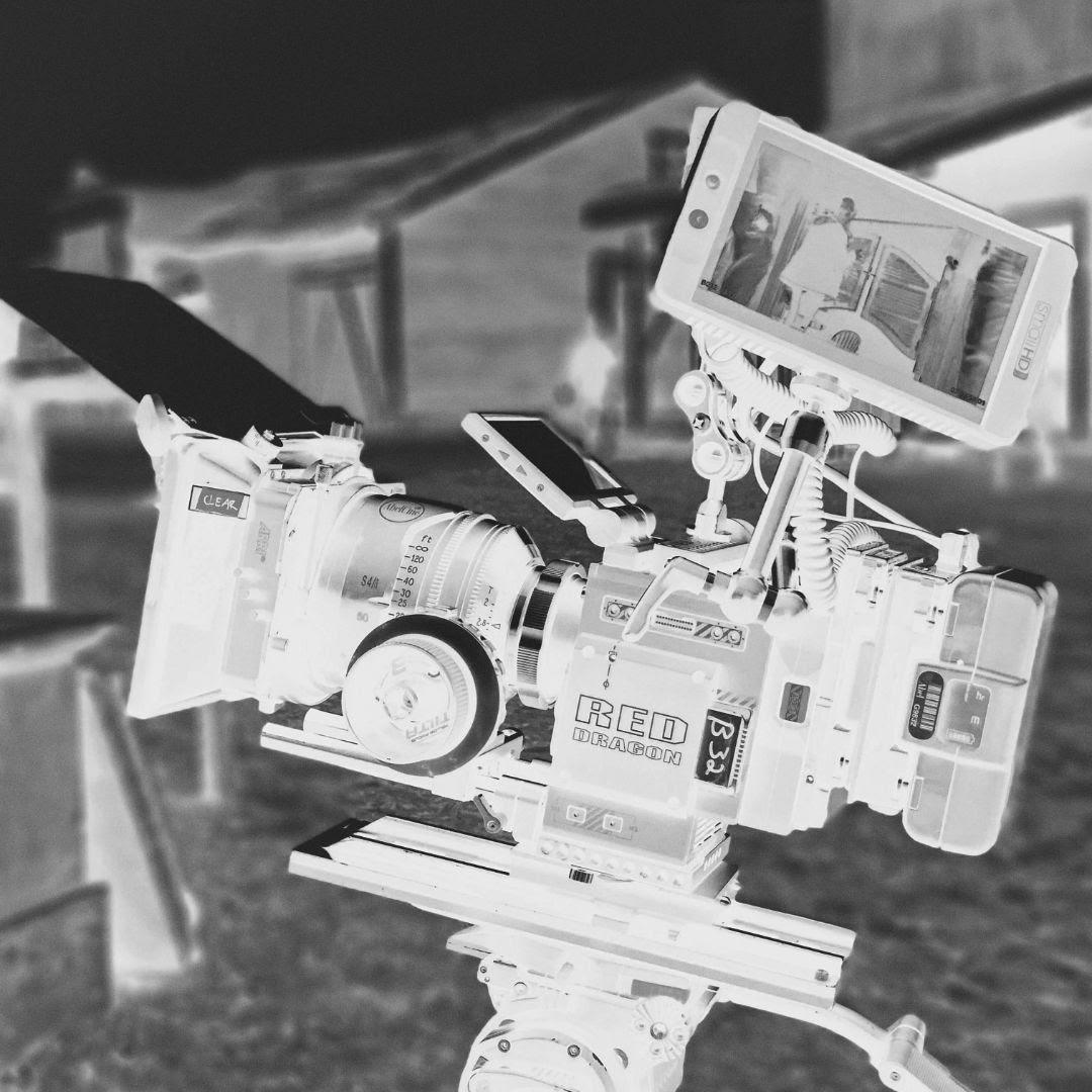 camera on tripod corporate video nottingham