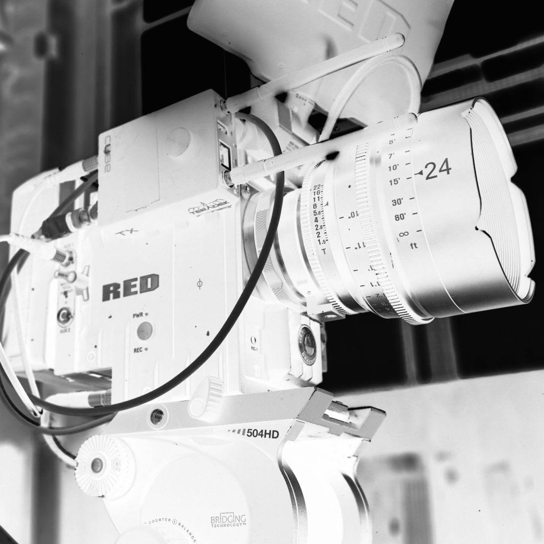 large camera on tripod video production companies nottingham