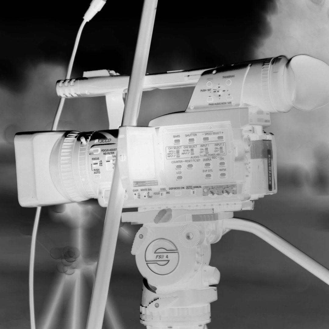 small camera on tripod videography company nottingham