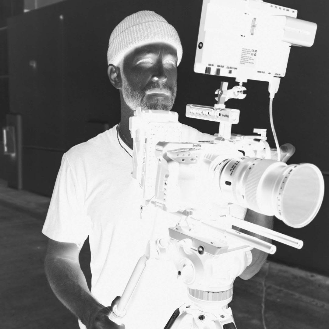 man filming in nottingham - video agency