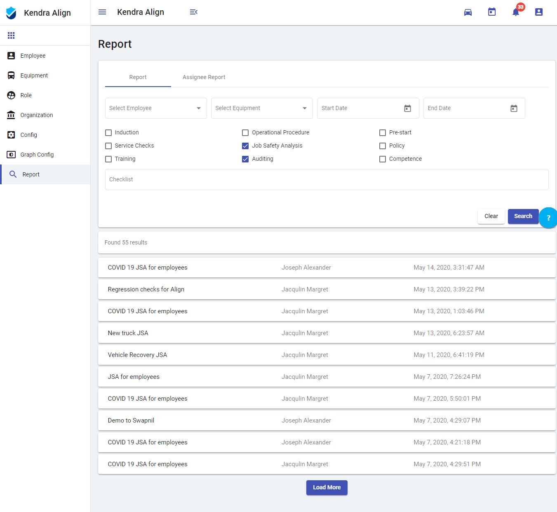 Generate Reports - Kiri Align
