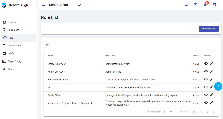 Role Management - Kiri Align