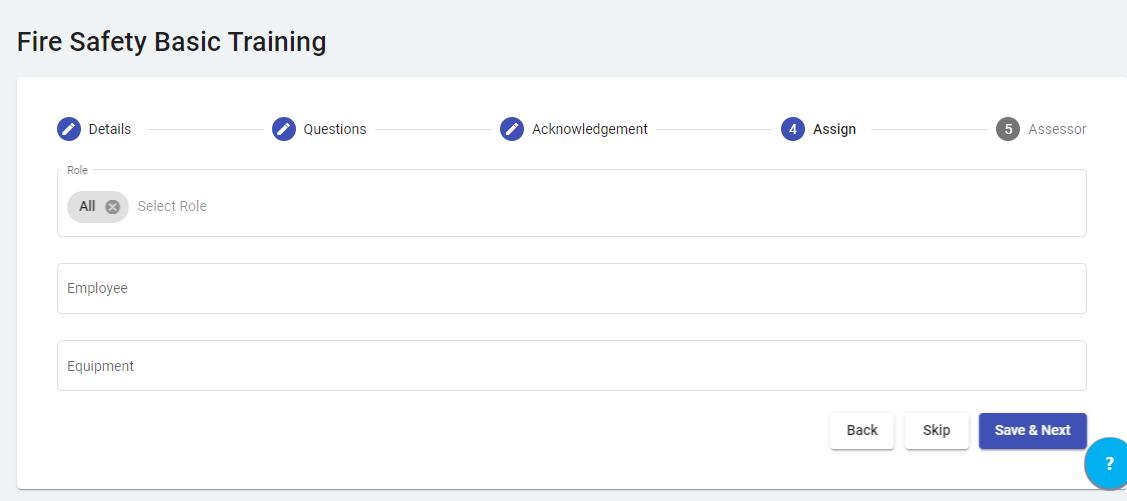 Digital OHS Training List - Kiri Align