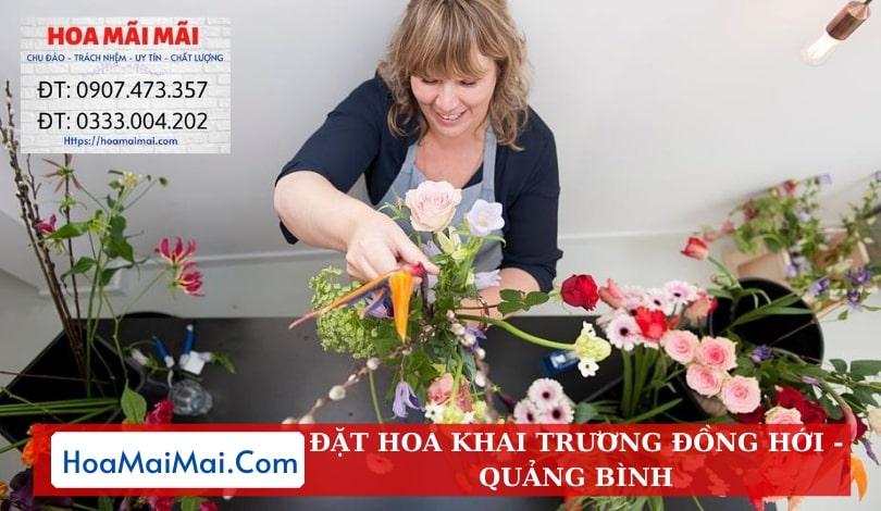 Đặt Hoa Khai Trương Đồng Hới - Điện Hoa Quảng Bình