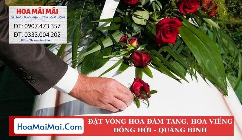 Đặt Vòng Hoa Đám Tang, Hoa Viếng Đồng Hới - Điện Hoa Quảng Bình