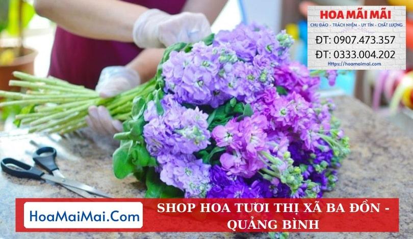 Shop Hoa Tươi Thị xã Ba Đồn - Điện Hoa Quảng Bình